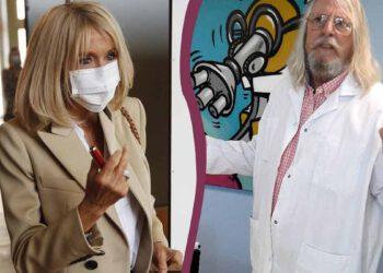 Brigitte Macron atteinte du Coronavirus ? Elle appelle Didier Raoult ?