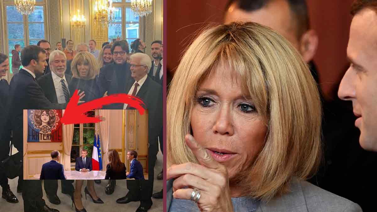 Brigitte Macron ennuyée, énervée par ce détail à l'Elysée !