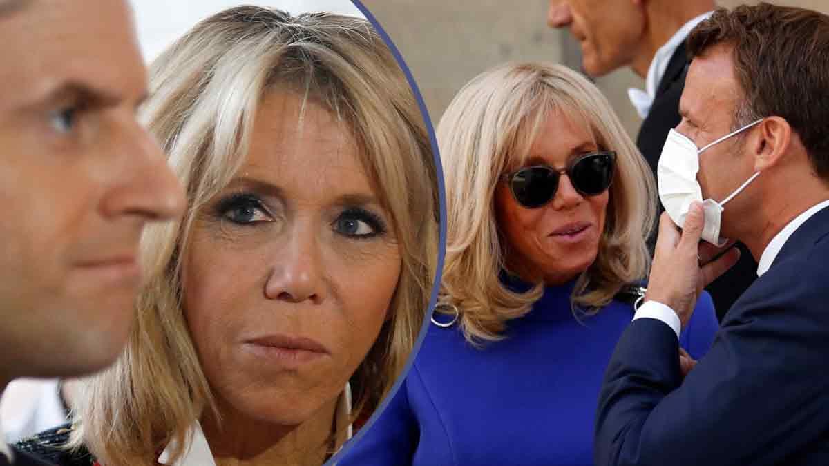 Brigitte Macron humilie Emmanuel Macron en publique ! C'est la honte !