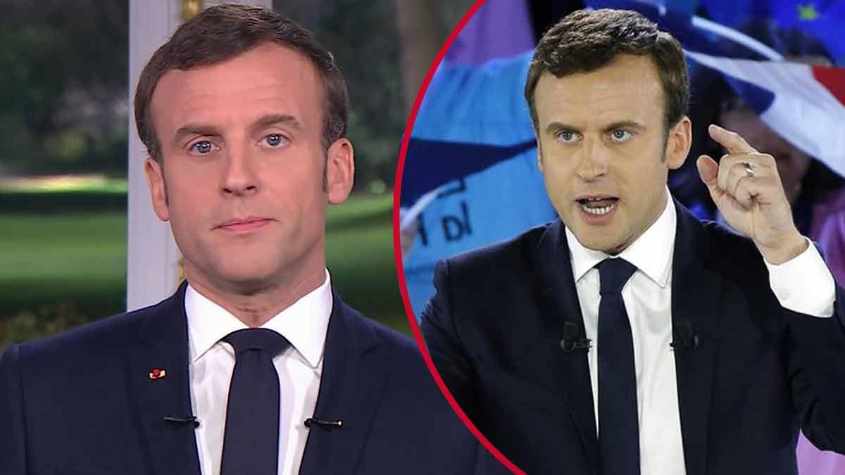 Emmanuel Macron violent, casse tout ! Il fait des dégâts de plus de 8 000 euros !