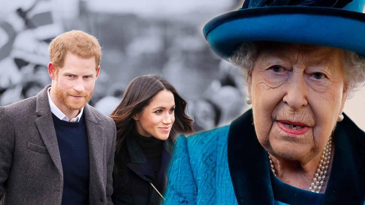 Harry et Meghan Markle en crise, une rupture en vue ? La reine Elizabeth II l'exige !