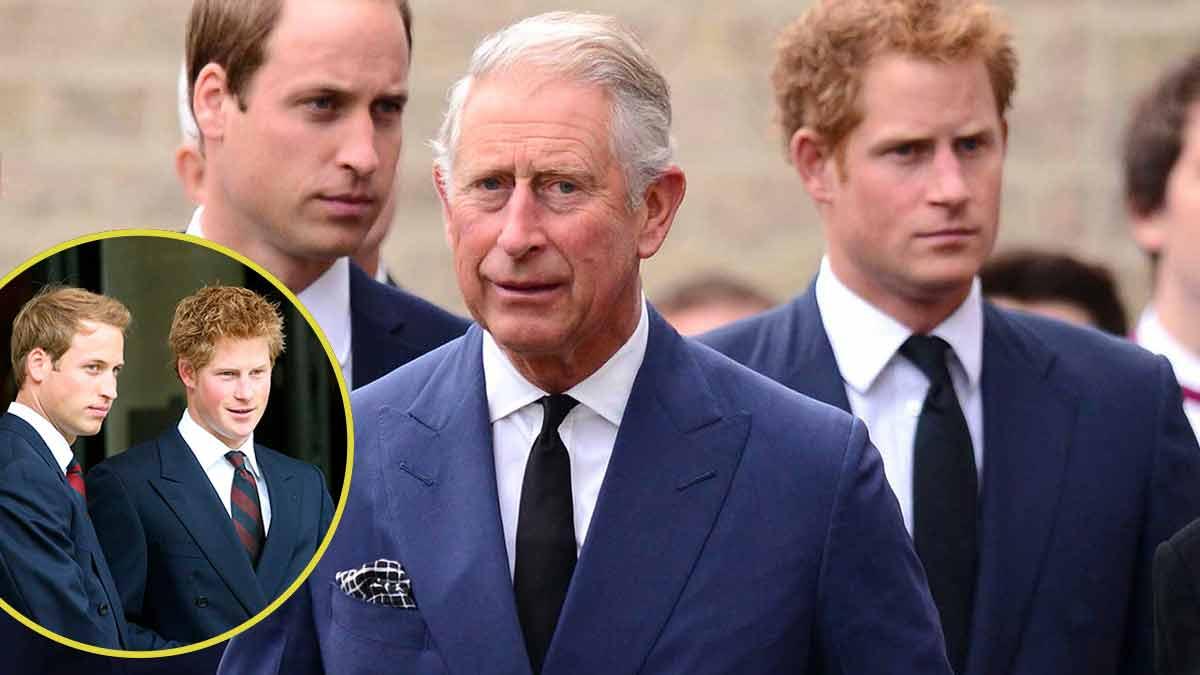 Harry VS William : Le prince Charles est la cause de tout !