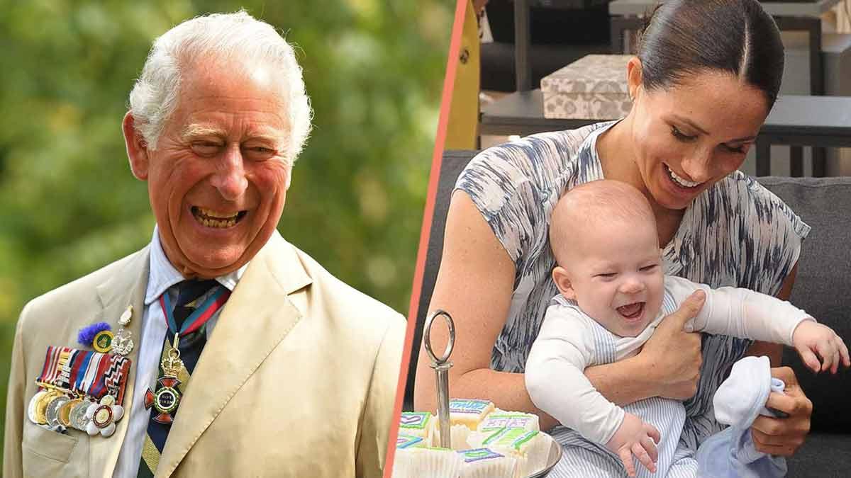 Prince Charles ému, très surpris par ces retrouvailles ! Il est de nouveau avec Archie !