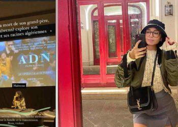 Agathe Auproux à une avant-première ! Elle lance le film de Maïwenn !