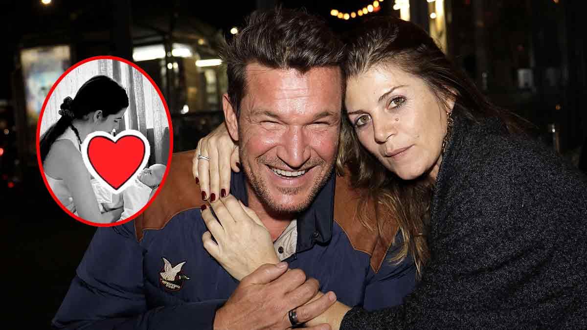 Benjamin Castaldi : Moment émouvant avec Louise ! Photo inédite avec leur bébé ?