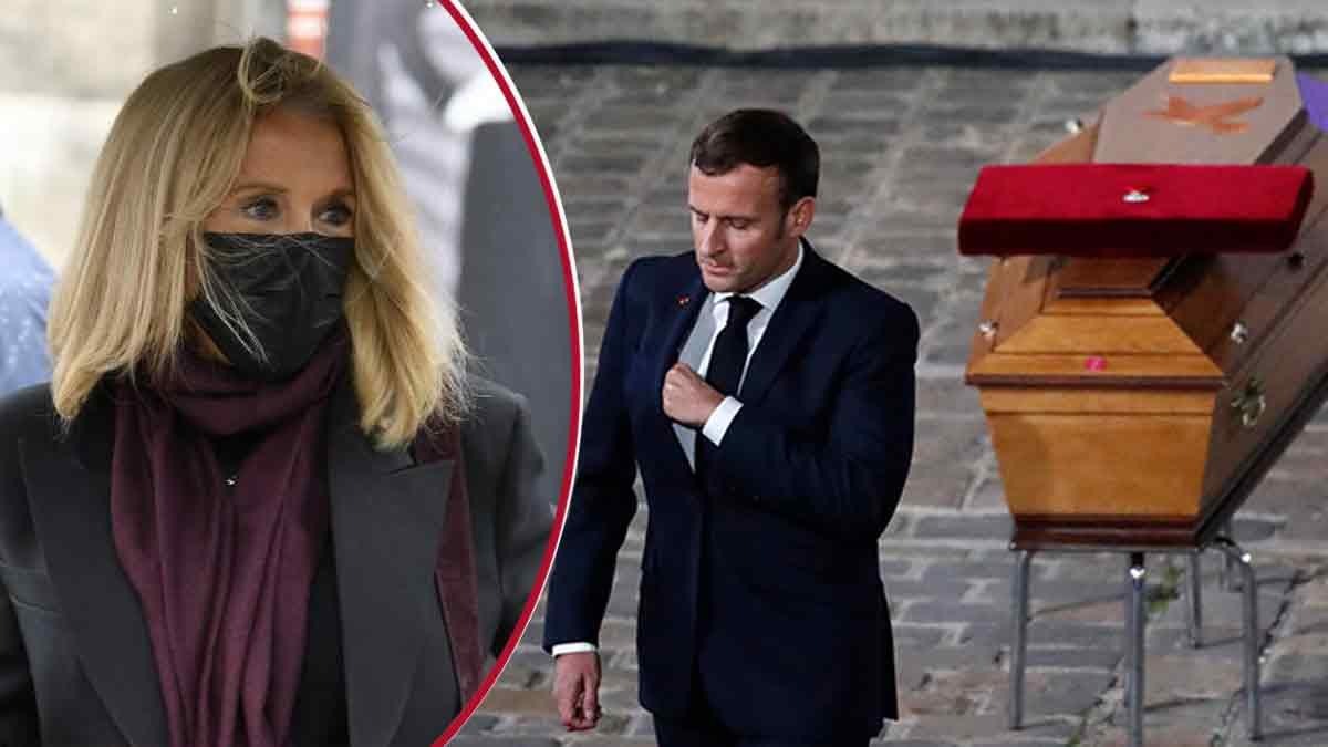 Brigitte Macron bouleversée, elle est très émue ! Hommage vibrant à Samuel Paty !