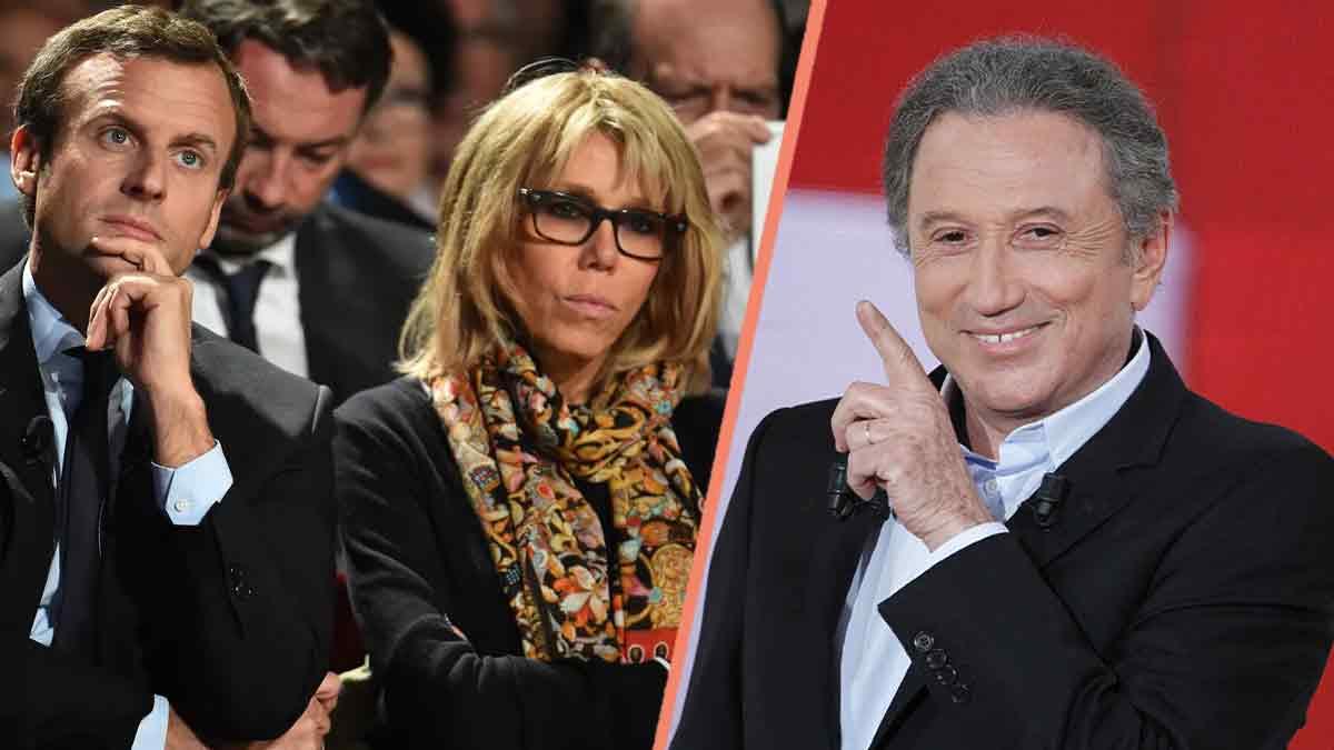 Brigitte Macron se sépare ? Michel Drucker lance un SOS poignant !