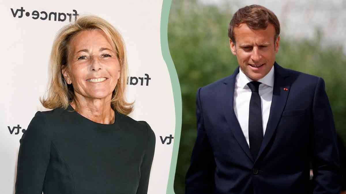 Claire Chazal très proche d'Emmanuel Macron ? Relation dévoilée !