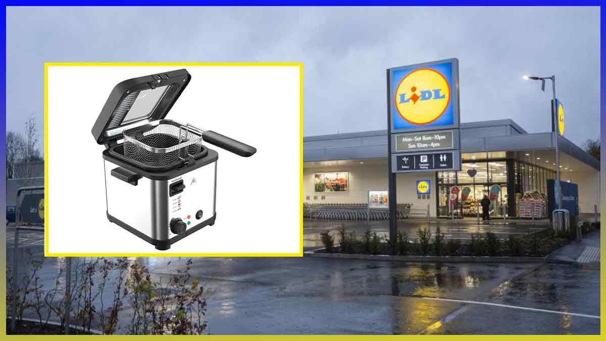 Lidl Bon plan cuisine : Cette friteuse à petit prix va vous changer la vie !