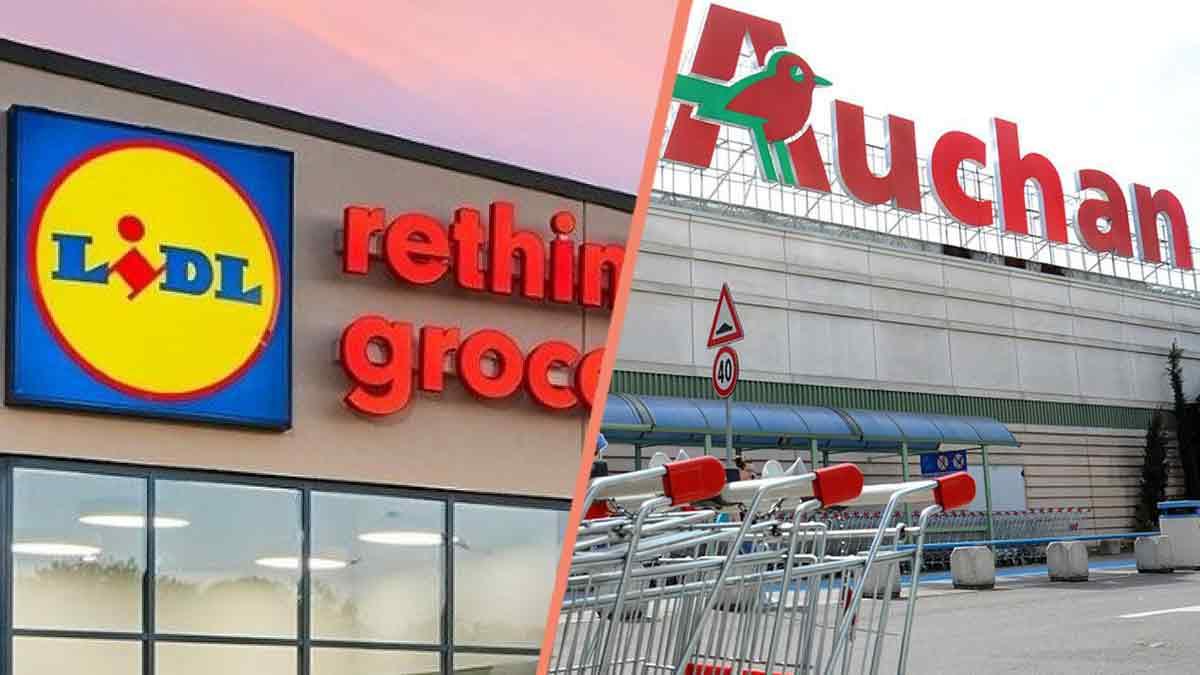 Lidl et Auchan : Ces produits sont rappelés en URGENCE ! Ne les consommez pas !