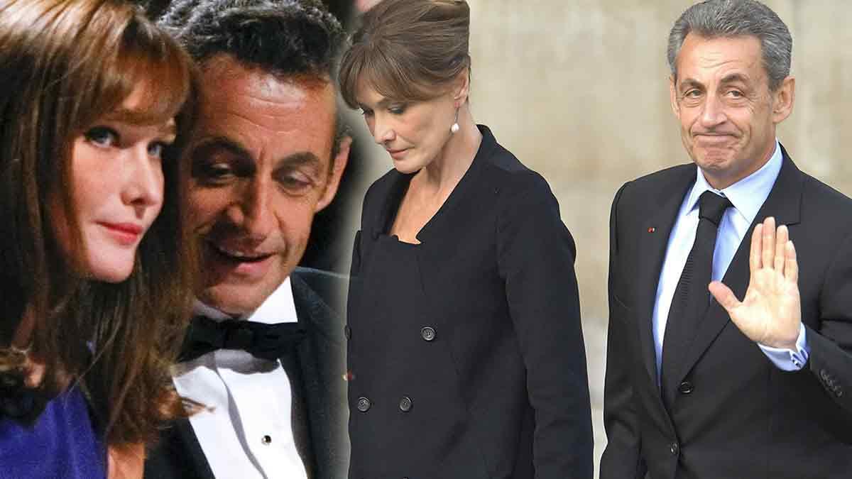 """Nicolas Sarkozy """"assassiné"""" ? Carla très inquiète !"""