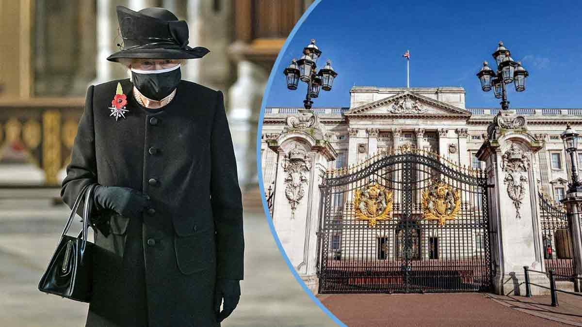 Elizabeth II en deuil, c'est la catastrophe ! Buckingham Palace, lieu maudit ?