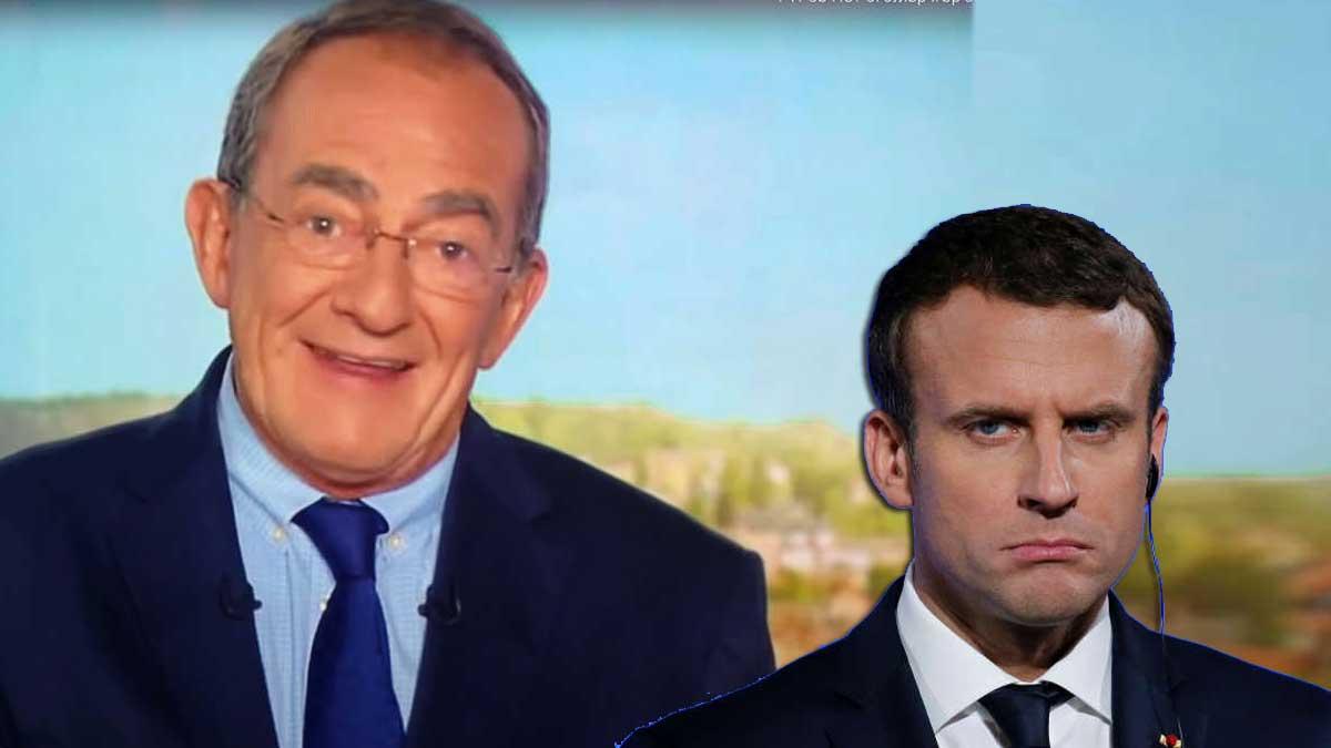 Jean-Pierre Pernaut : la grosse boulette à l'encontre d'Emmanuel Macron