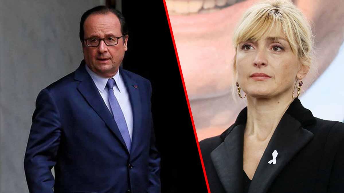 Julie Gayet : Un proche dévoile sa réaction face à l'infidélité de François Hollande !
