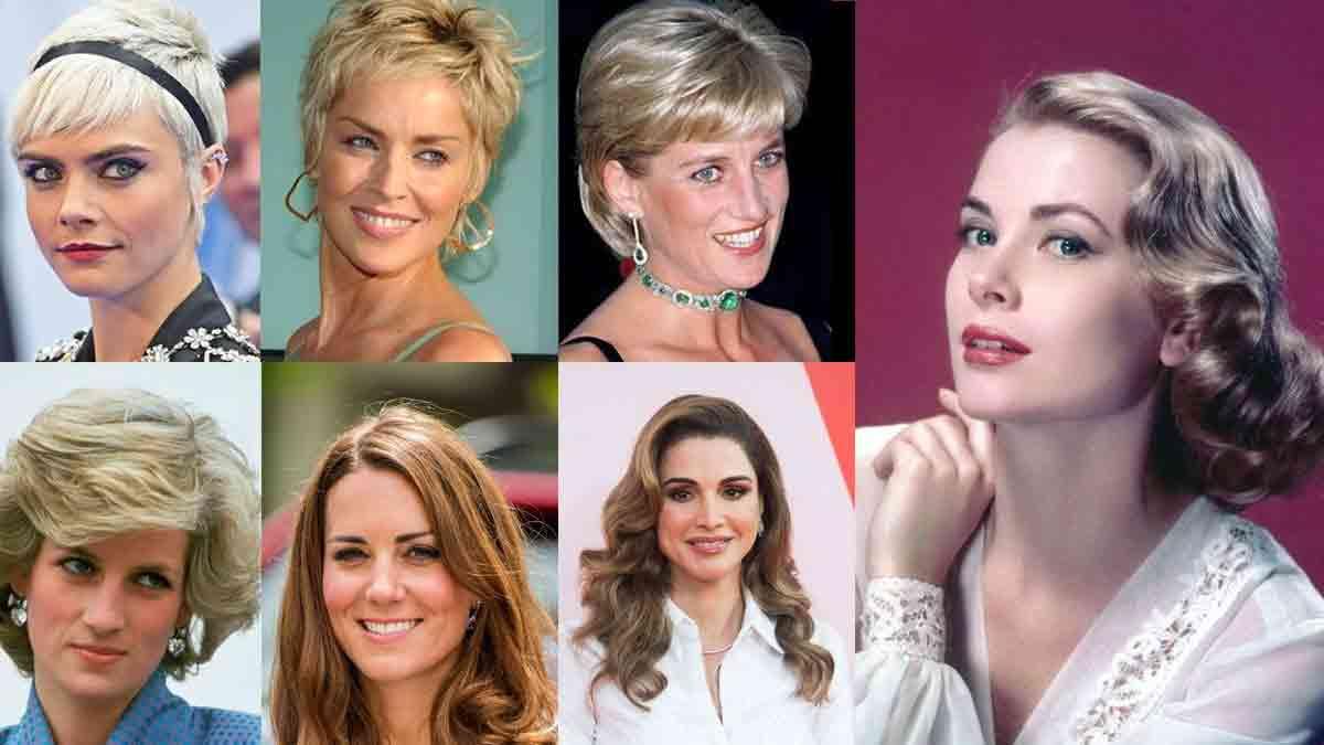 Coiffures : Les TOP tendances des femmes royales !