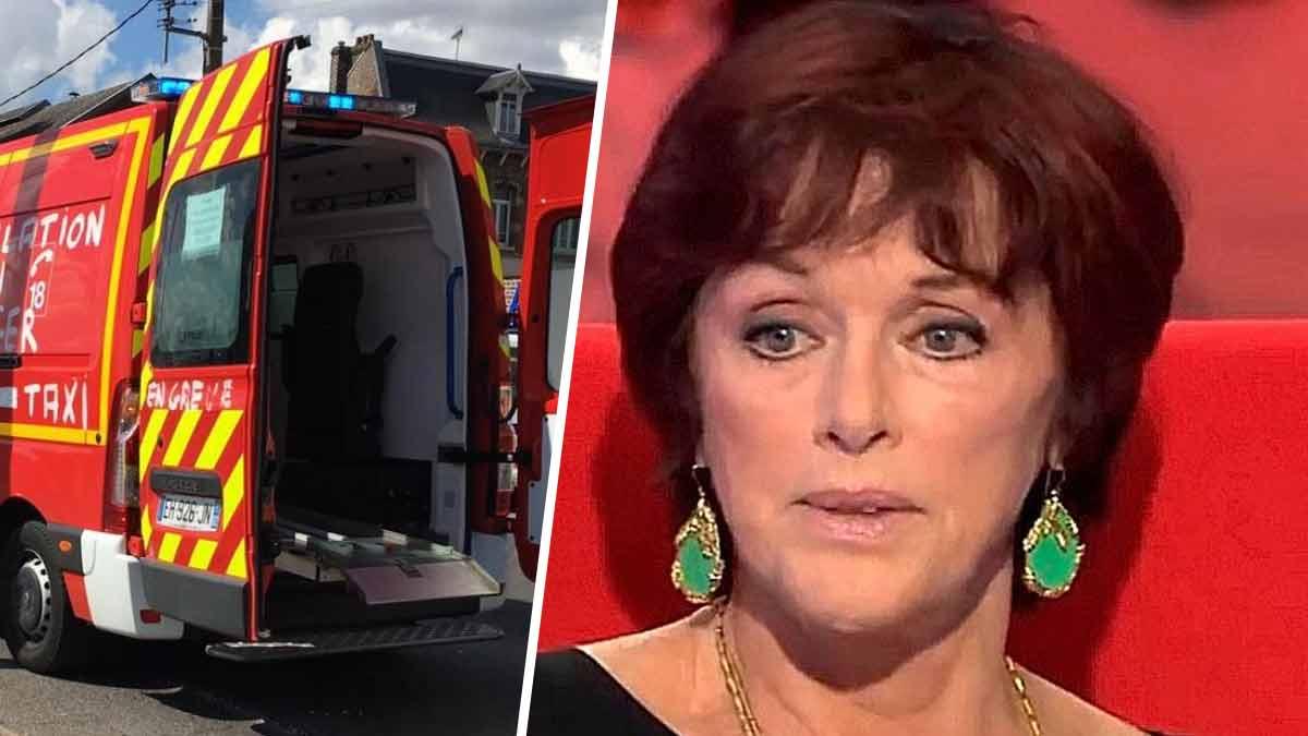 Anny Dupereyvictime d'un grave accident, violemment percutée par une voiture